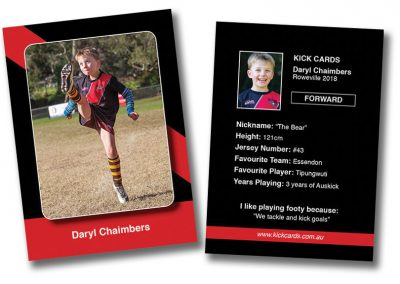 football cards for sporting clubs